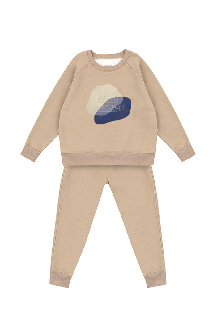 Sunshine Sweat Set_Baby_Beige