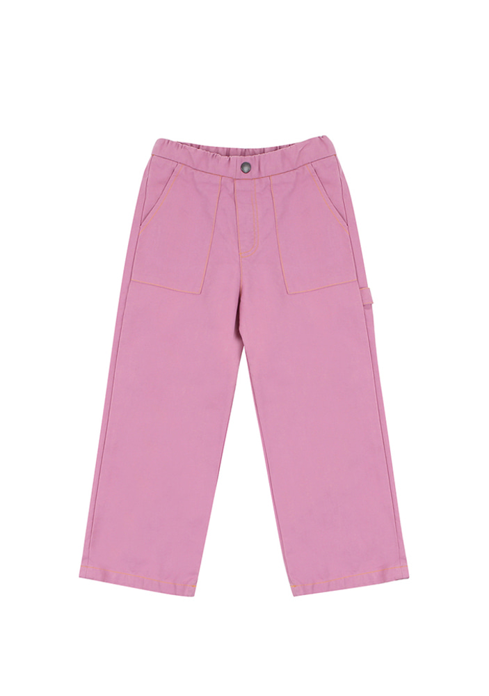Work Ankle Pants_Purple
