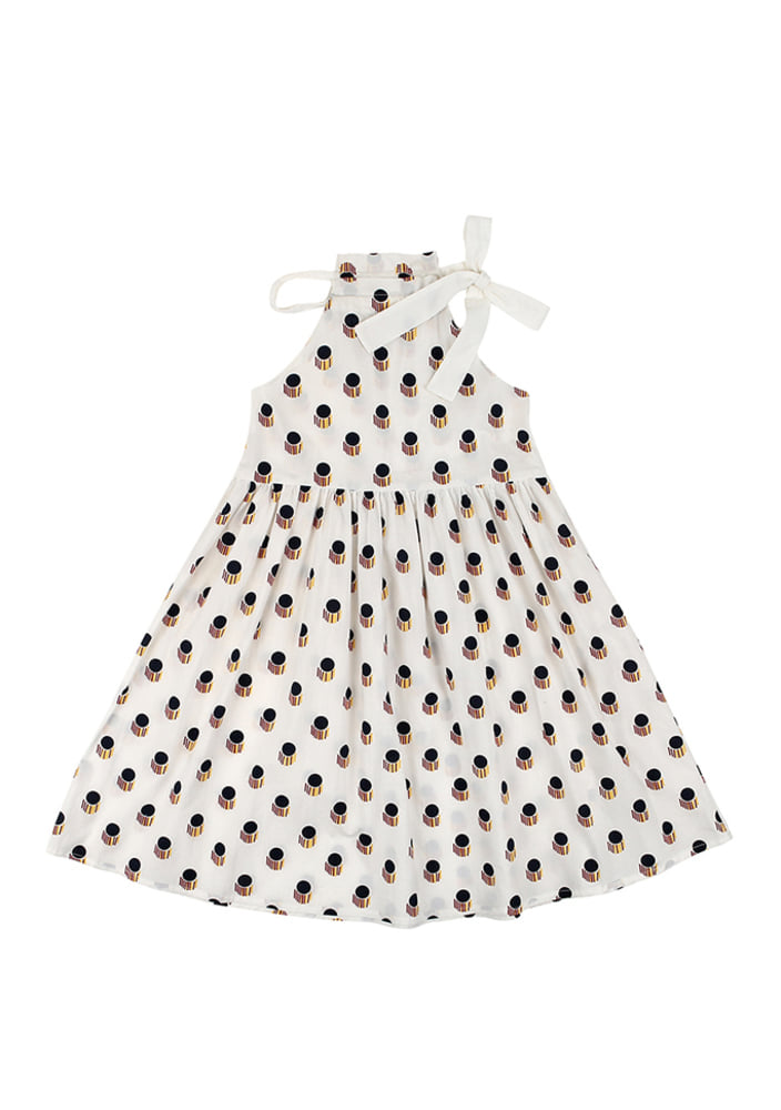 Holterneck Dress_White_kids