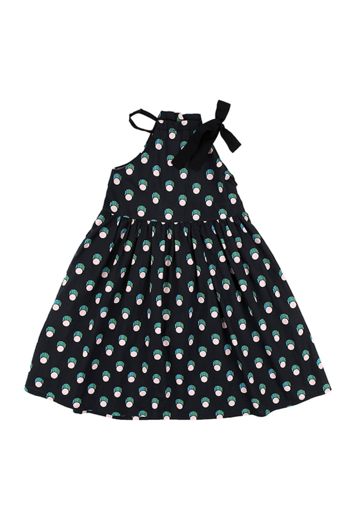 Holterneck Dress_Black_kids
