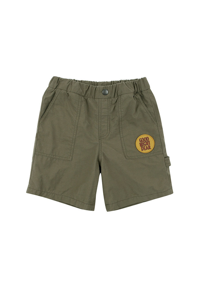 Cotton Work Shorts_Khaki_Baby