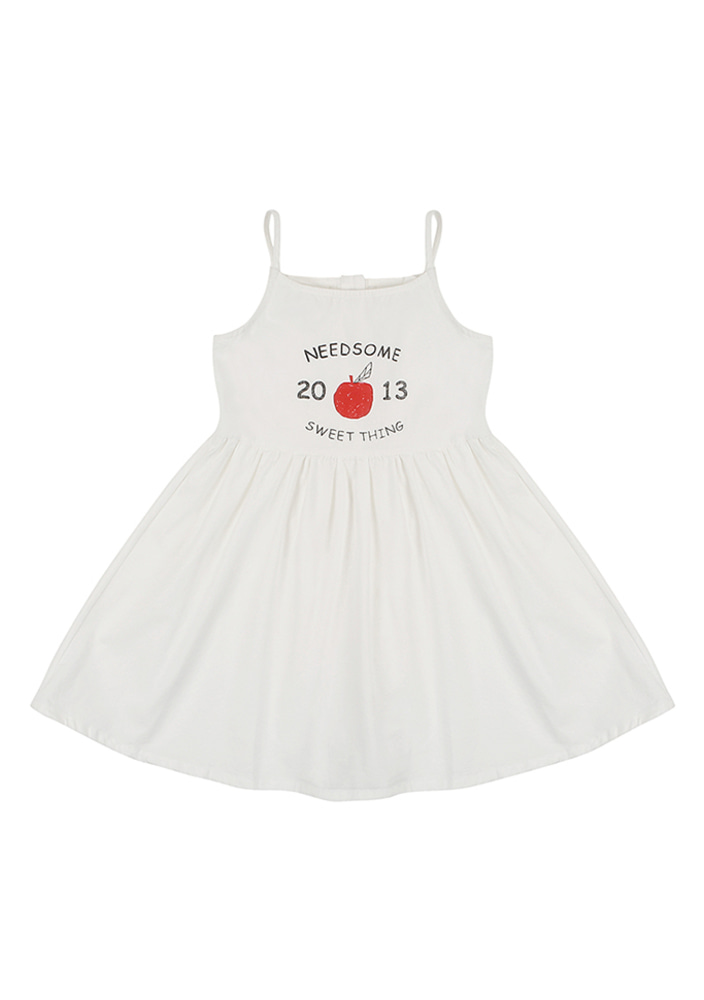 Summer Apple Dress_kids