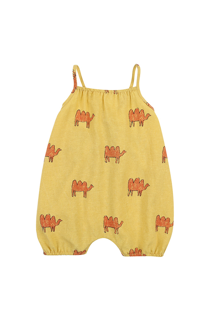 Camel Strap Body Suit_baby