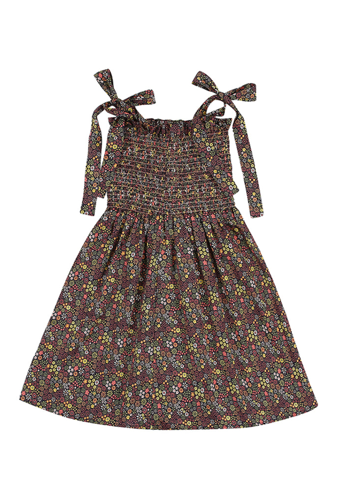Floral sleeveless Dress_kids