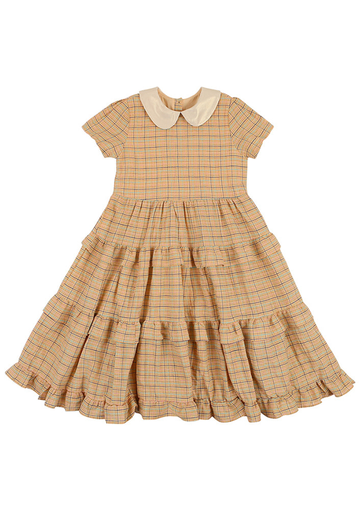 Princess Check Dress_kids