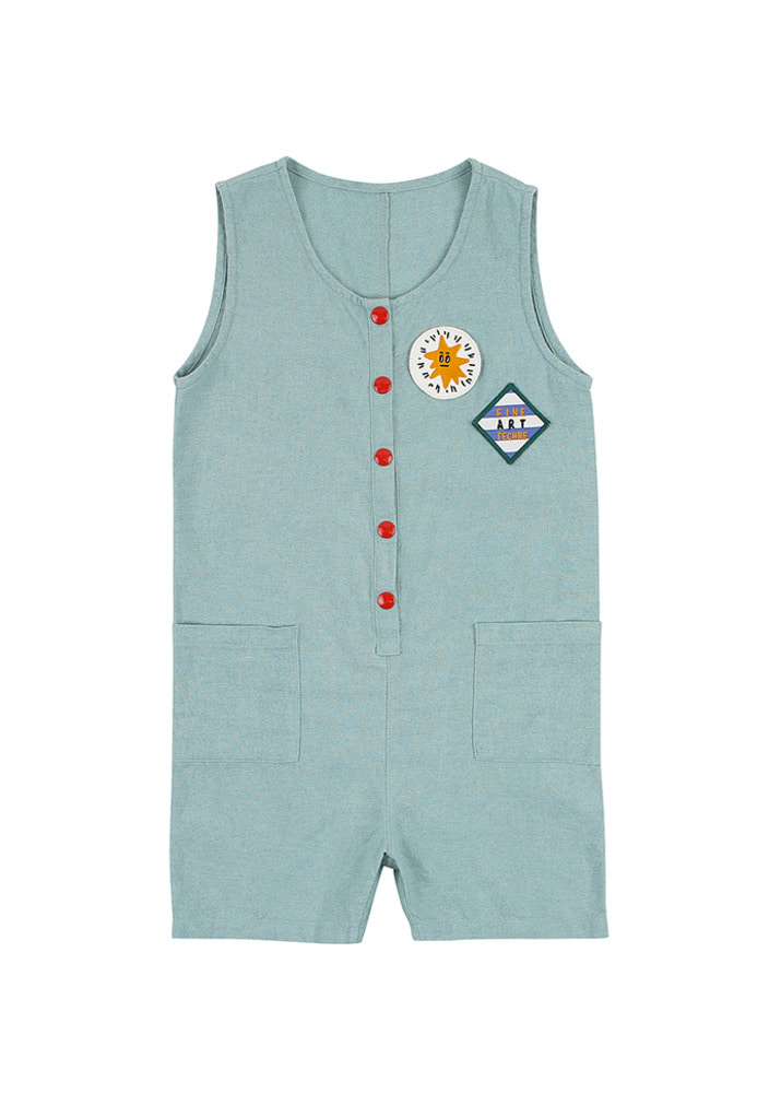Fine Art Jumpsuit_Mint_Kids
