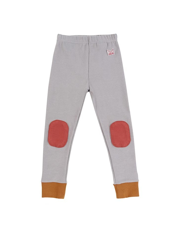 Patch Leggings_Grey_Kids