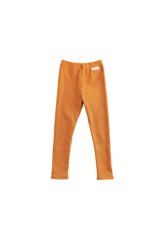 Basic Leggings_Kids_Camel