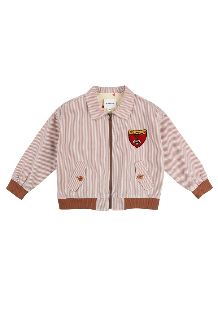 Honeybee collar Bomber Jacket_Kids
