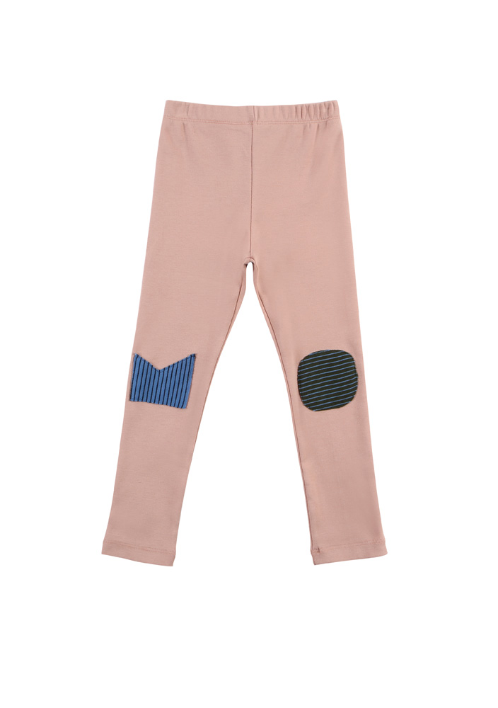 Mallow Leggings_Kids_Pink