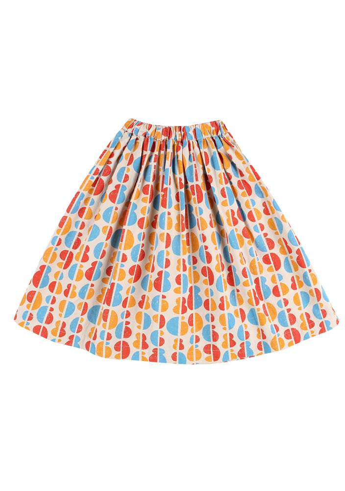 Rainbow Midi Skirt_Kids