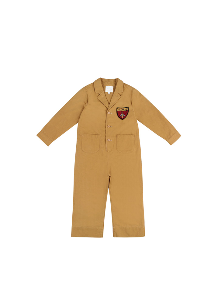 Honeybee Jumpsuit_Kids_Mustard