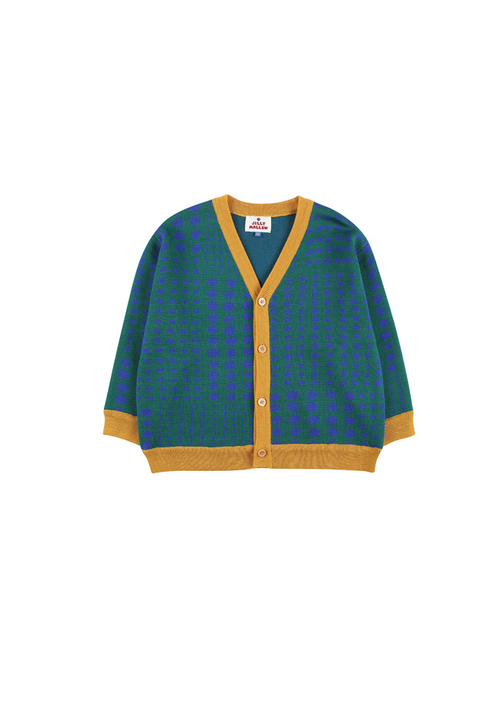Dot knit Cardigan_Kids