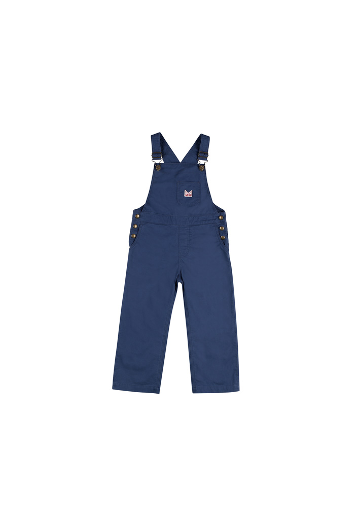 JM cotton overall_Kids_Blue