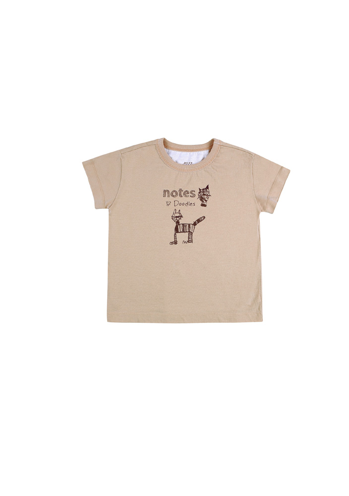 Pussycat Short Sleeve T-shirt_Kids