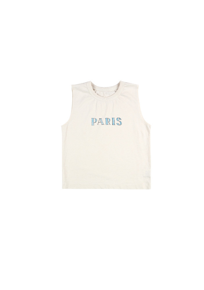 Paris Sleeveless Shirt_Kids