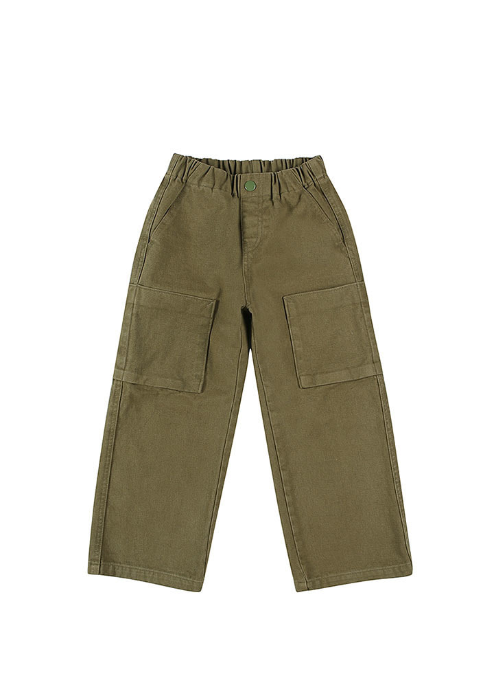MILITARY COTTON PANTS