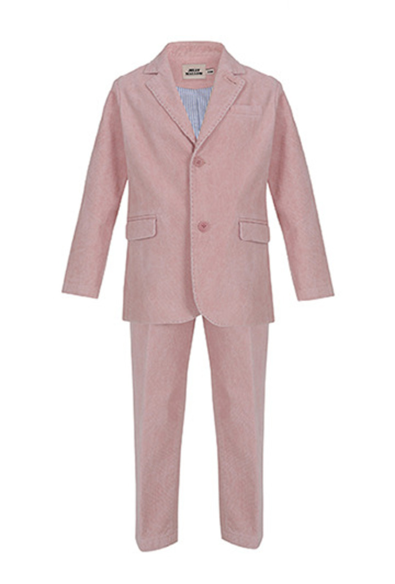 Overdyed Cotton Suit