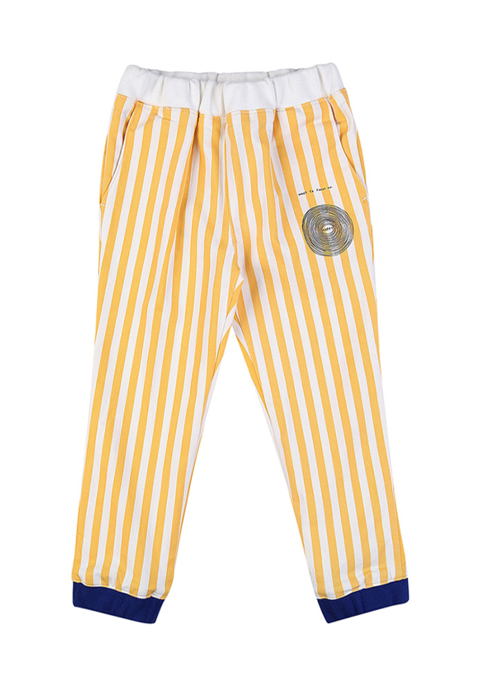 Striped Lounge Pants_Baby_Lemon