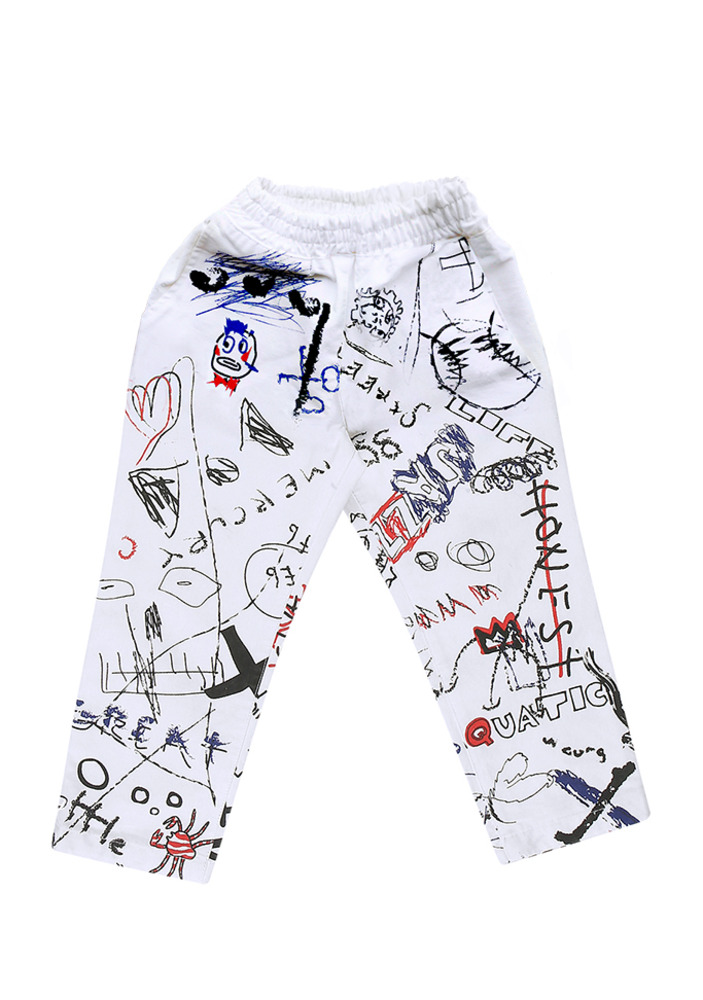 Painted Doodle Pants_baby