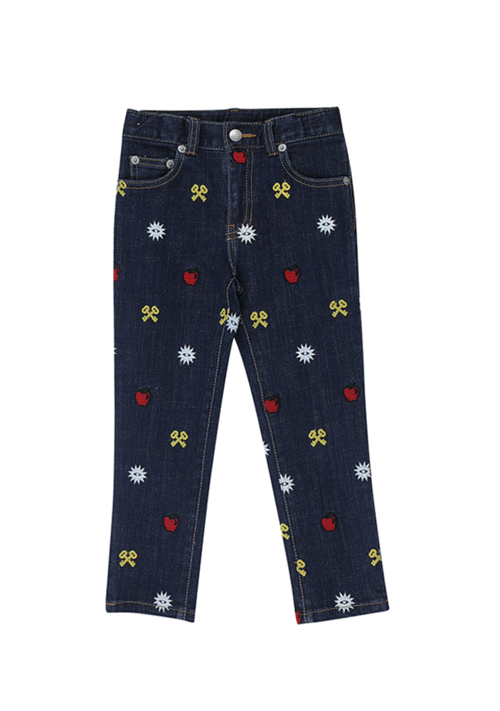Embroidered Jean_Kids
