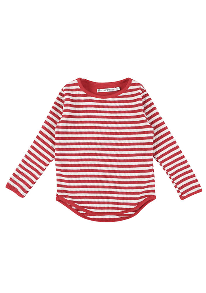 Striped T-shirt_Red_Baby