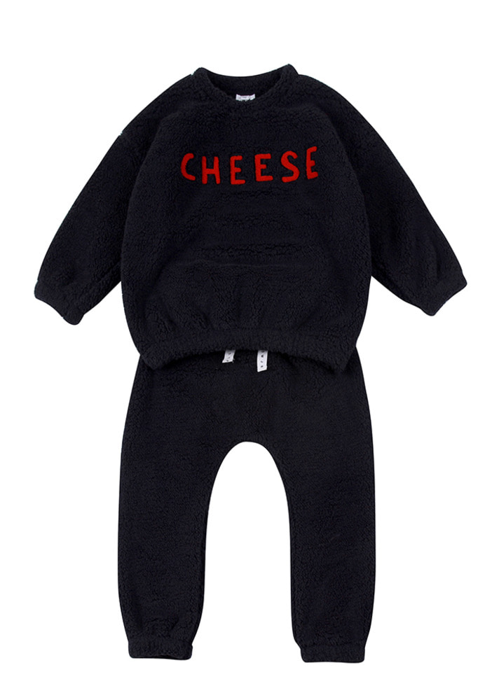 Cheese Shealing Set_Black_Kids