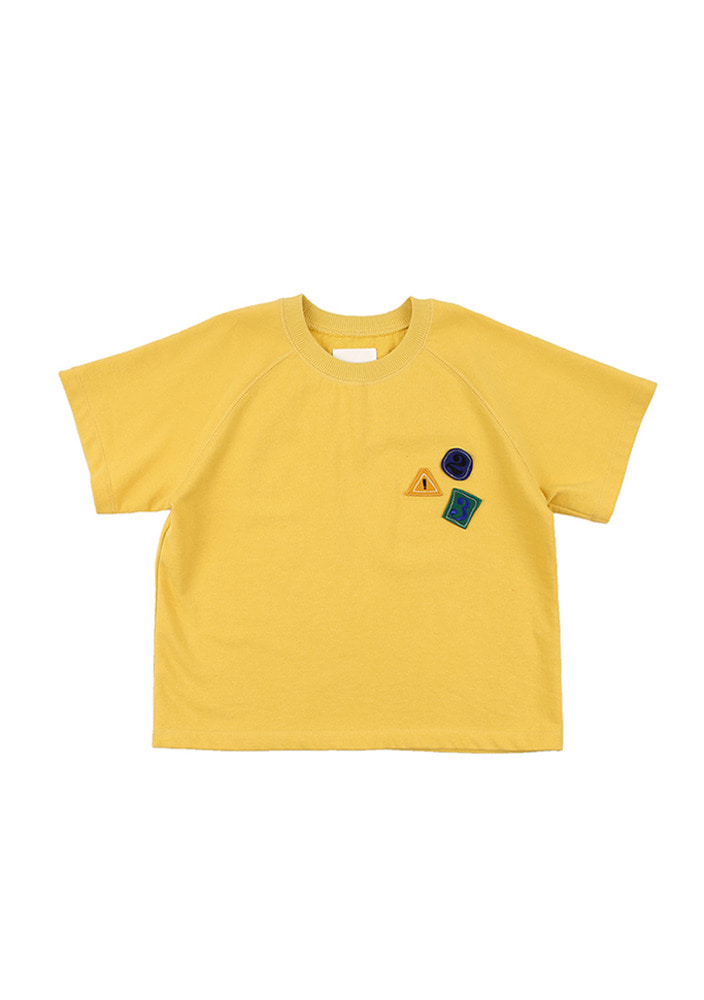123 T-Shirt_Yellow_Baby