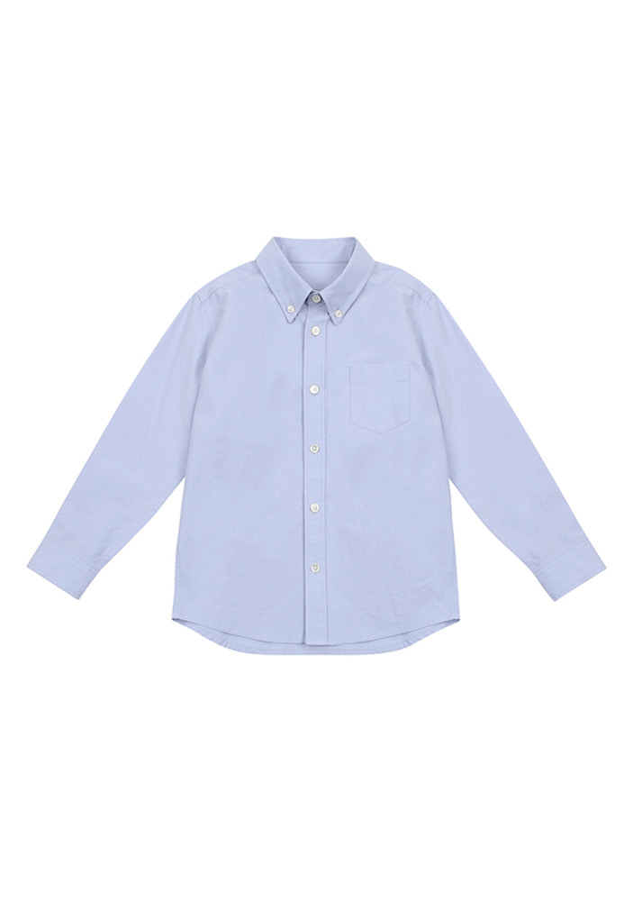 Button Down Shirt_Blue_Kids