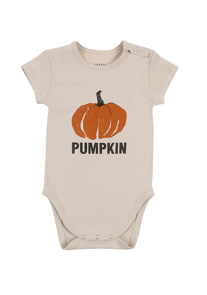 Pumpkin Body Suit_baby