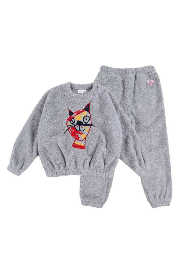 Triple Cat Shearling Set_Kids