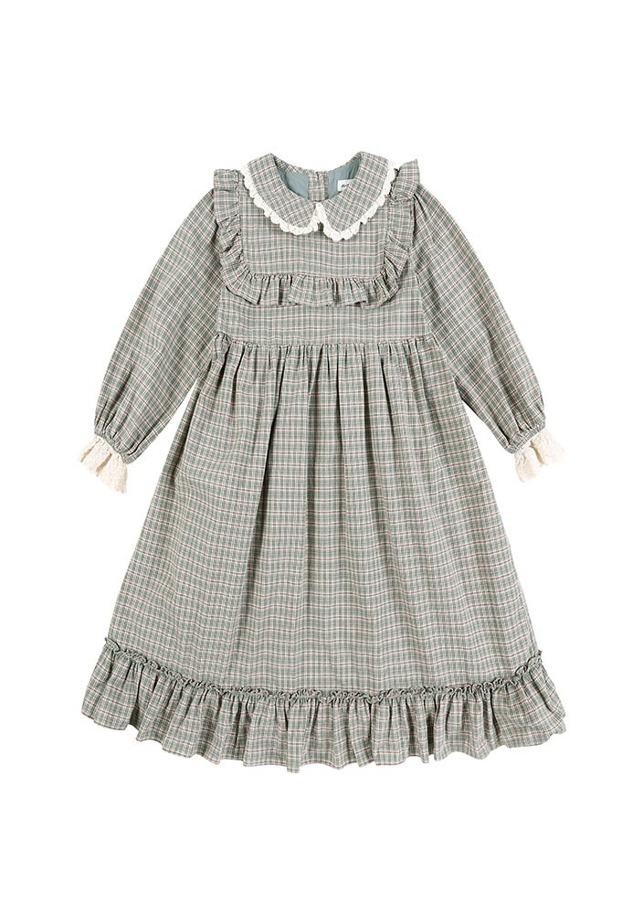 Check Frill Dress_Baby