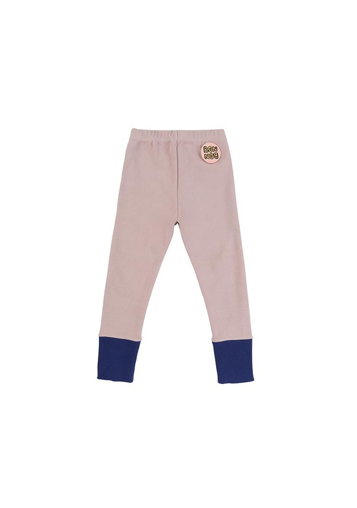 Color Rib Leggings_Pink_Kids_#3