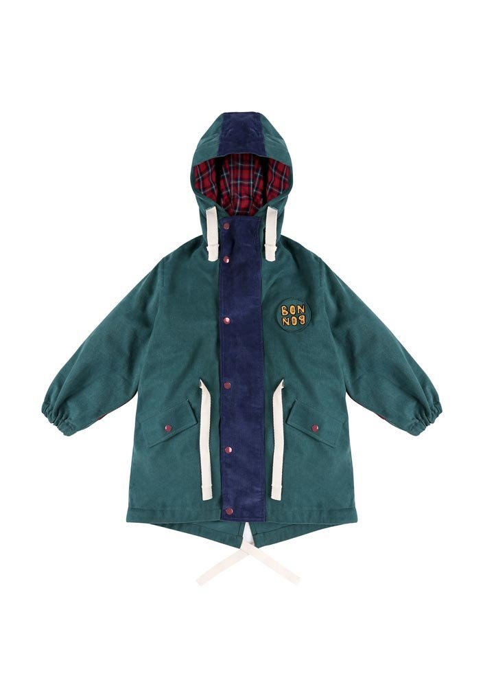 ★BONBON coat_green