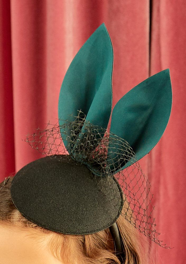 Rabbit Party Mini Hat_Green_#2