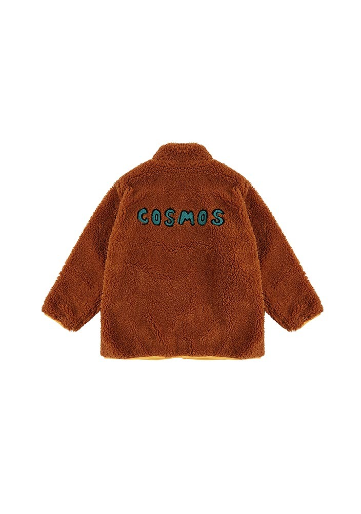 Shearling Jacket_Brown_Kids_#3