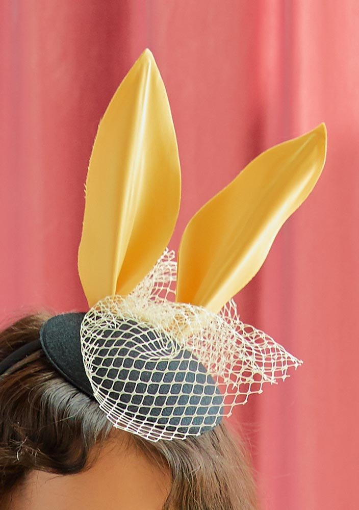Rabbit Party Mini Hat_Yellow_#2