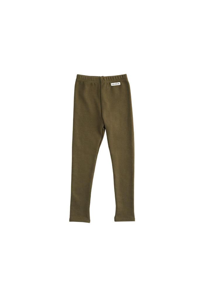 Basic Leggings_Kids_Khaki