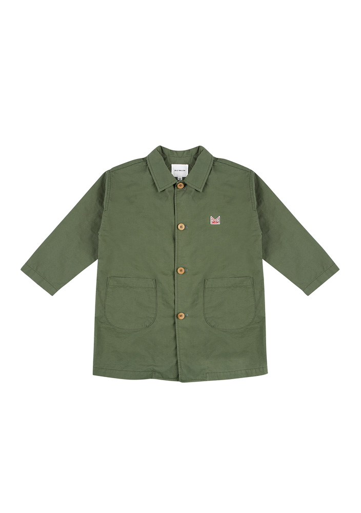 Single Spring Coat_Kids_Khaki