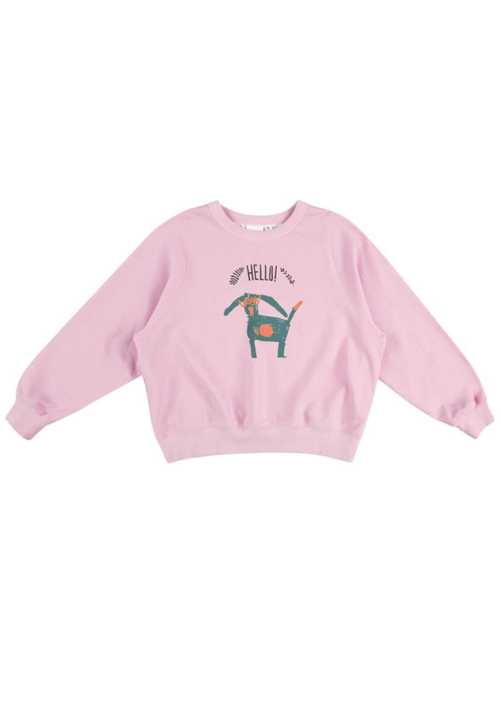 Green Puppy Sweatshirt_Kids