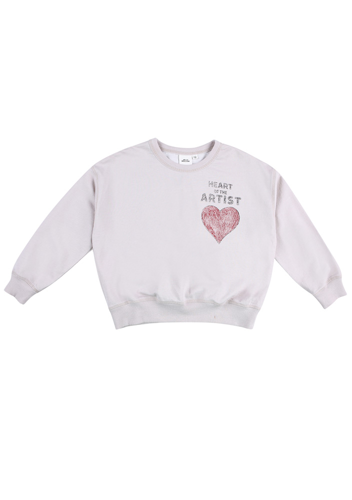 Artist Heart Sweatshirt_Kids
