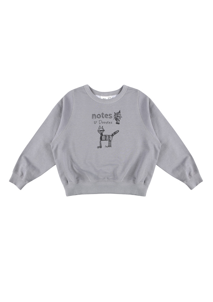 Pussycat Sweatshirt_Kids