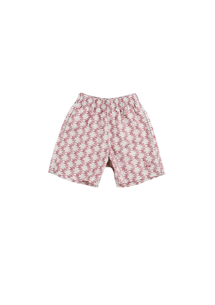 Playtime Cotton Shorts_Kids_Beige