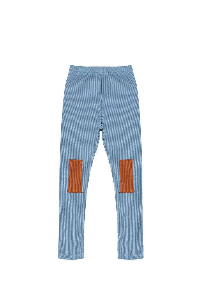 AW PATCH LEGGINGS_Kids_Blue_#2