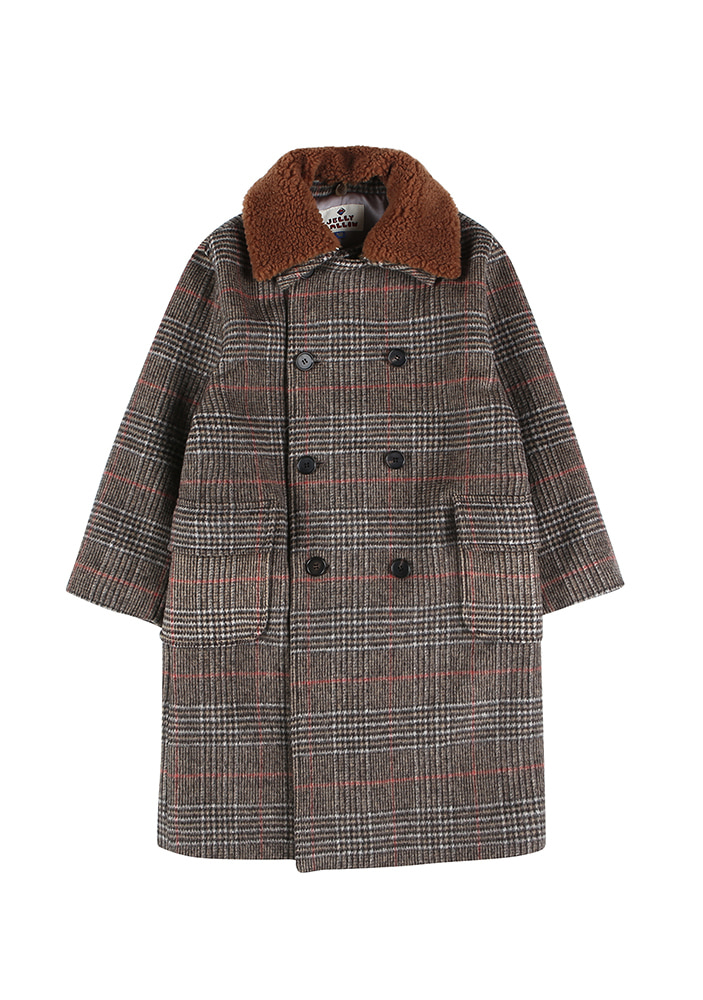 RELAXED COAT_Brown