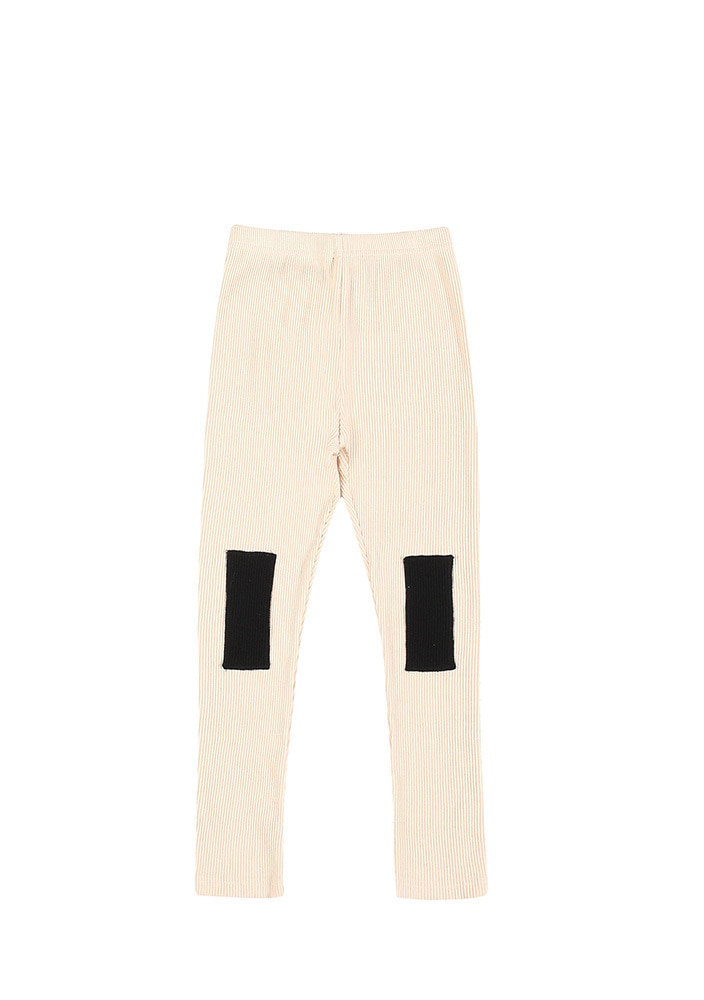 AW PATCH LEGGINGS_Kids_Ivory_#2