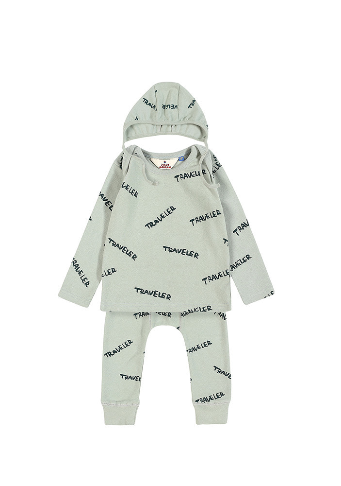 CREW NECK TRAVELER SET_Baby_Mint