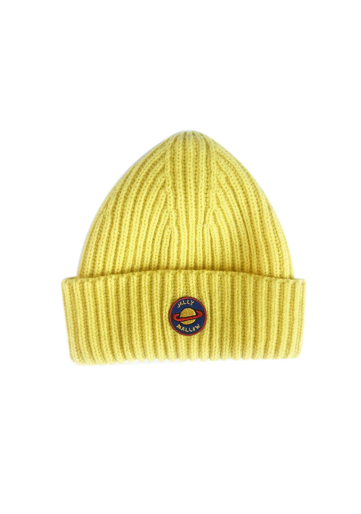 PATCH BEANIE_Yellow