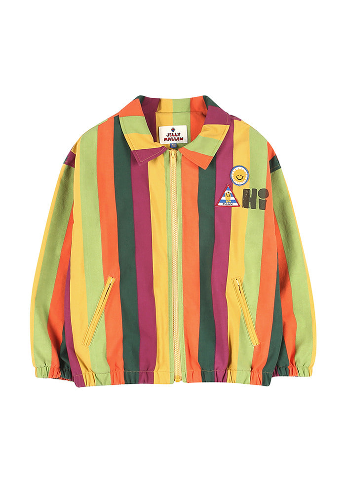 RAINBOW STRIPE JACKET