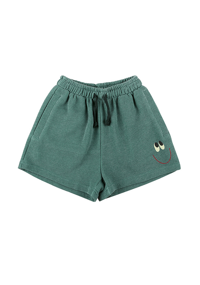 SMILE COTTON SHORTS_Kid